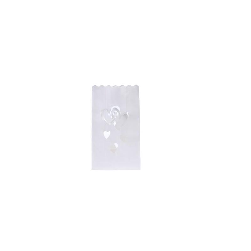 Bolsa papel decoracion para velas corazones - Bolsas de papel para velas ...