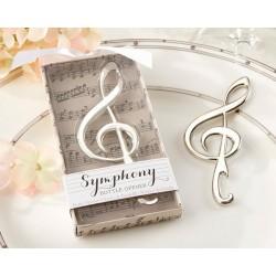 Abridor Nota Musical presentado en cajita de regalo