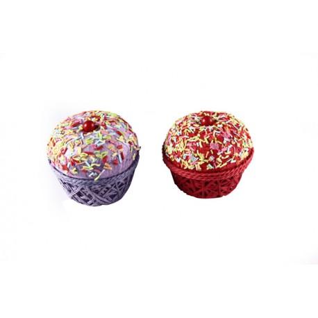 """Cajita en forma de pastel """"cupcake"""""""