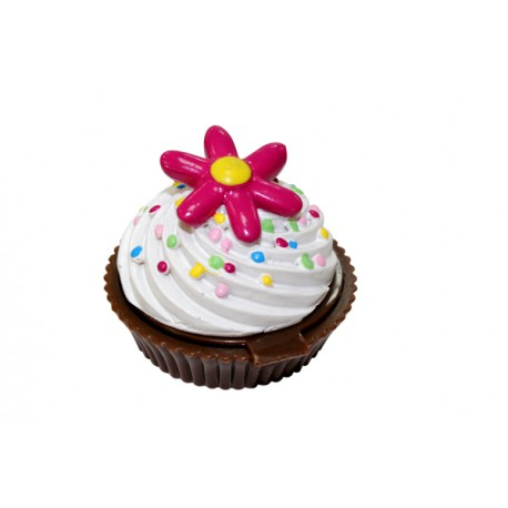 Bálsamo brillo de labios en forma de pastelitos cupcake
