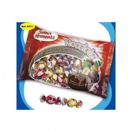 Bombones relleno crema de avellana (bolsa 1 kg)