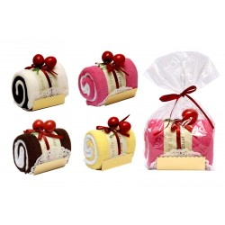Dulce Tronco de Pastel en bolsita regalo