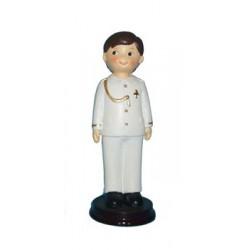 Figura Pastel comunión niño almirante