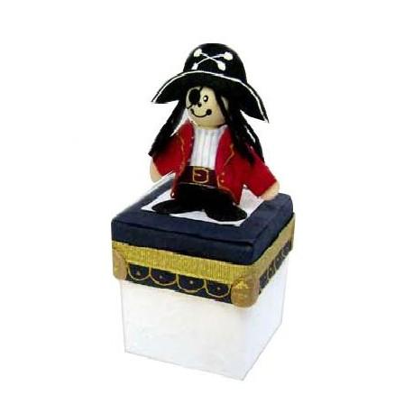 Set 16 Cajitas pirata