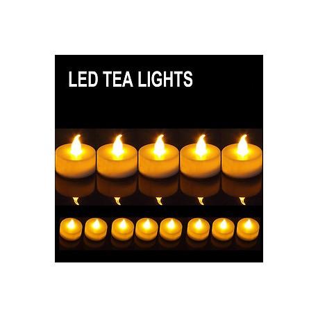 Velas LED Decoración (Sin cera, ni humo)