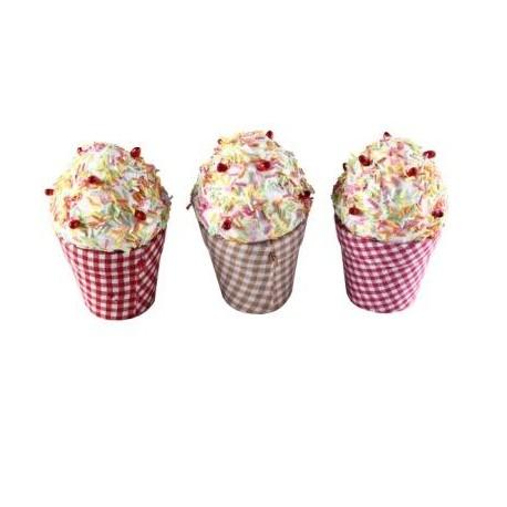 """Cajita en forma de copa de helado """"cupcake"""""""
