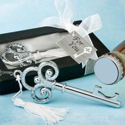 Llave Abridor Plata presentado en cajita de regalo