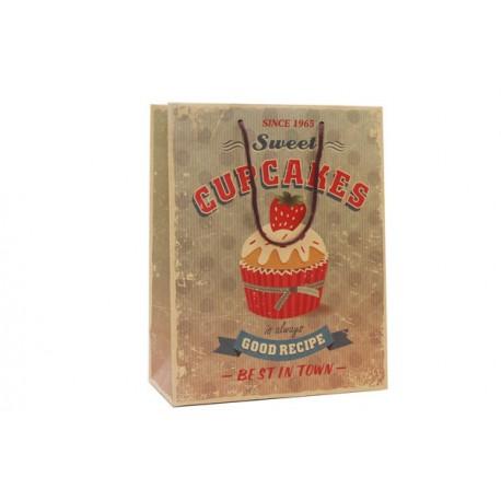 Bolsa Papel Cupcake