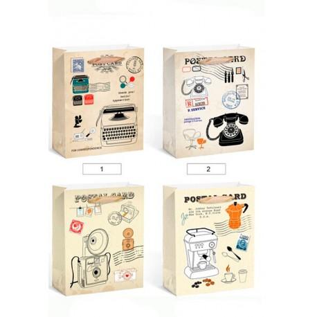 Bolsa Papel Post Card