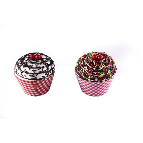 "Cajita en forma de tarrina de helado ""cupcake"""