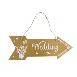 Cartel FLECHA WEDDING