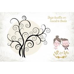 Árboles de Huellas para bodas