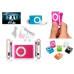 MP3 Player + Auriculares + Cable USB
