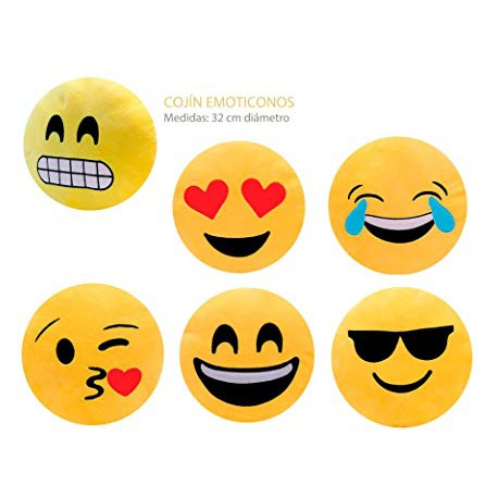 Cojín EMOTICONOS