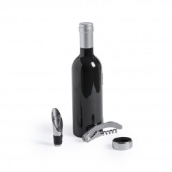 Pack de 10 Botellas personalizadas con 3 accesorios para vino