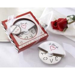 """Cortador de Pizza """"Love"""" en..."""