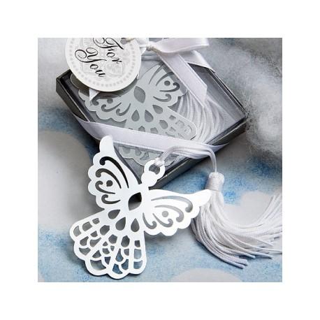 Punto de Libro Angel con Borla en cajita de regalo