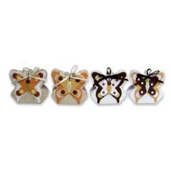 Set de 12 Cajitas Mariposas Otoño